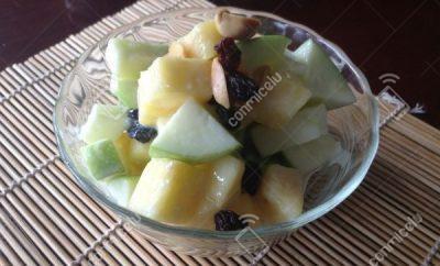 Receta Piña con manzana verde