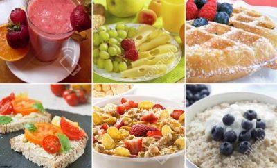 Recetas de desayunos rápidos y saludables