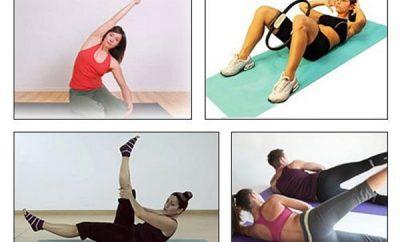 Rutina de ejercicios para cintura y abdomen