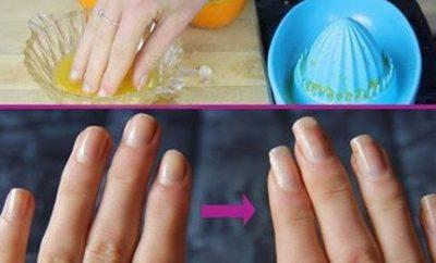 Truco casero para fortalecer las uñas