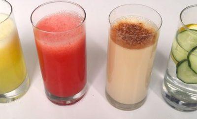 Bebidas saludables para el cuerpo