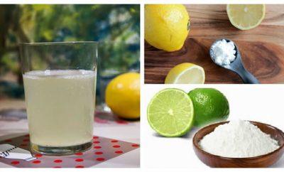 Bicarbonato y limón para bajar de peso
