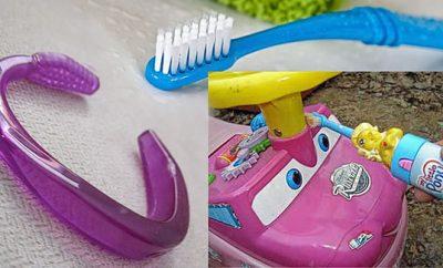 Cómo hacer pulseras con cepillos de dientes