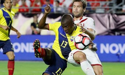 Horario del partido Ecuador vs. Perú