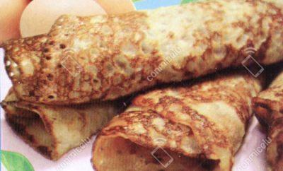 Receta Creps de harina de quinua