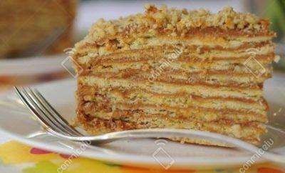 Receta Pastel de milhojas