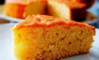 Receta Pastel de Zanahoria y Naranja