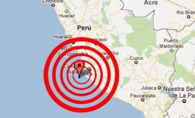 Terremoto en Perú 10 de septiembre 2016