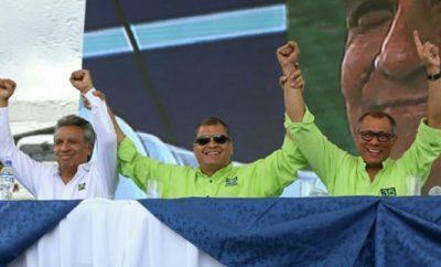 Lenín Moreno y Jorge Glas serán el binomio de Alianza País