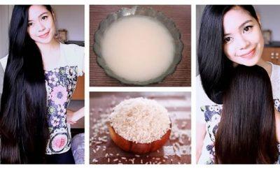 Cómo hacer crecer el cabello con agua de arroz