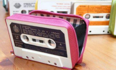 Cómo hacer monederos con cassettes