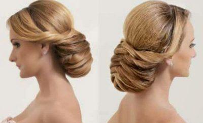 Cómo hacer un peinado recogido elegante