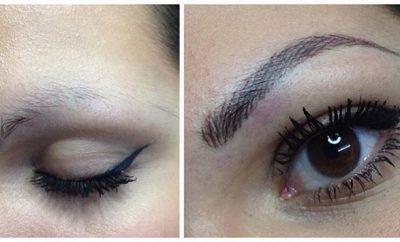 Cómo maquillar las cejas poco pobladas