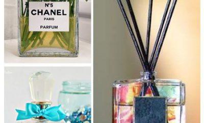 Cómo reutilizar los frascos de perfume