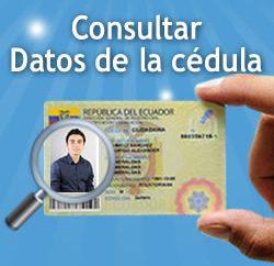 Consulta de Datos Registro Civil Ecuador
