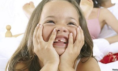 El orden de la caida de los dientes de leche