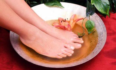 Infusión para relajar los pies