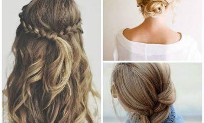 Peinados de moda para mujeres jóvenes