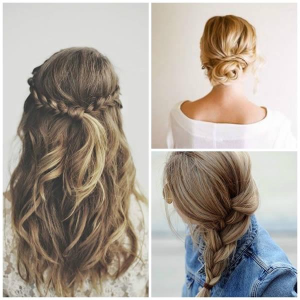 Tipos de peinados para mujeres jóvenes