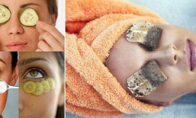 Recetas naturales para eliminar ojeras