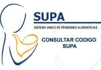 SUPA Consultar Código de pensiones alimenticias