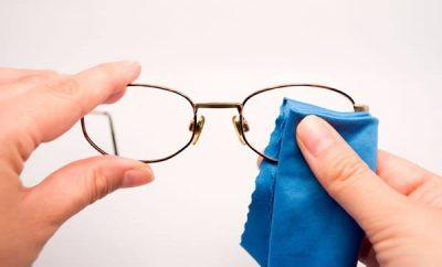 Trucos para limpiar los lentes