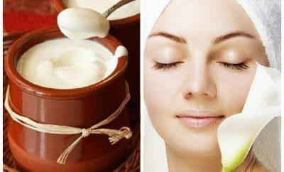 Usos del yogurt natural en la piel