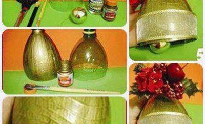 campanas-de-navidad-con-botellas-plasticas