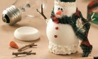 como-hacer-munecos-de-nieve-con-focos