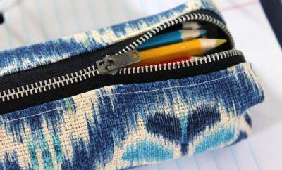 Cómo hacer una cartuchera con retazos de tela
