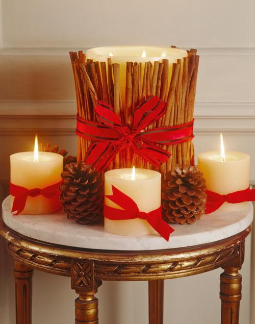C mo hacer velas decorativas con canela conmicelu for Como hacer velas decorativas