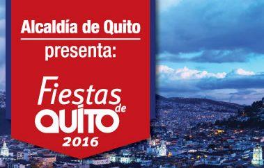Agenda fiestas de Quito 2016
