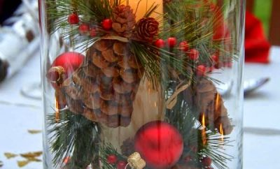 Ideas para centros de mesa en navidad