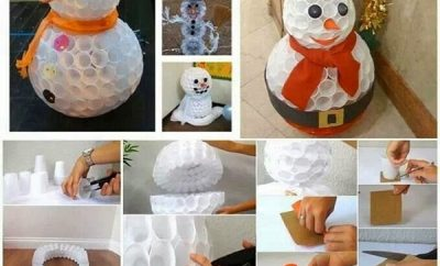 muneco-de-nieve-con-vasos-desechables