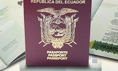 Requisitos sacxar renovar pasaporte Ecuador
