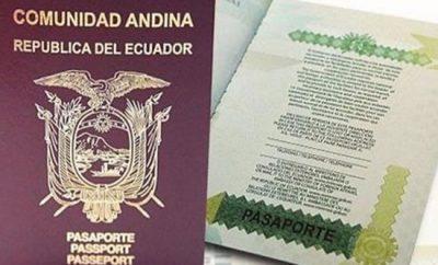 Turnos para sacar pasaporte Ecuador