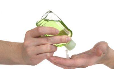 como hacer un desinfectante casero para manos