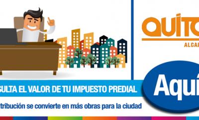 Consultar impuesto predial Quito