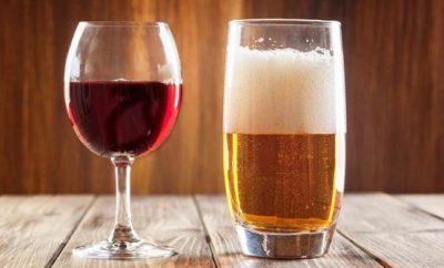 vino o cerveza que es mejor
