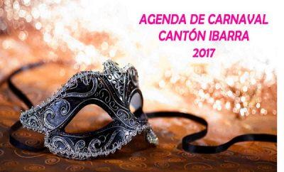Agenda de Carnaval de Ibarra 2017