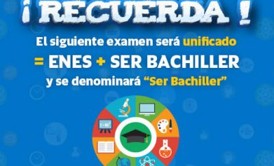 Examen Ser Bachiller