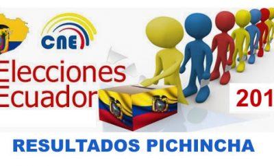 Resultados de Pichincha en Vivo CNE Elecciones Ecuador