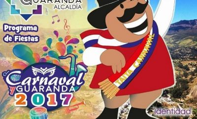 Programa carnaval de Guaranda 2017