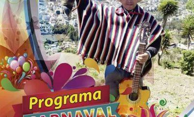 Agenda de Eventos Carnaval de San Miguel de Bolívar 2017
