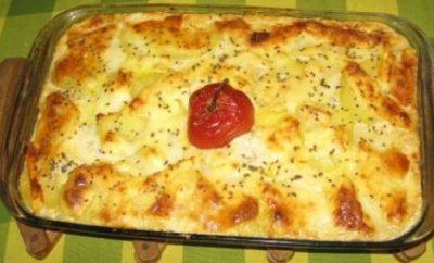 quinua con queso al horno