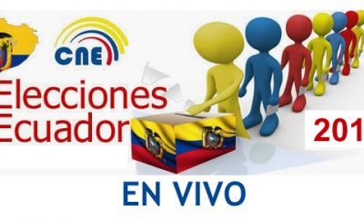 EN VIVO : Resultado de elecciones Ecuador 2017