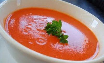 sopa de tomate para bajar de peso
