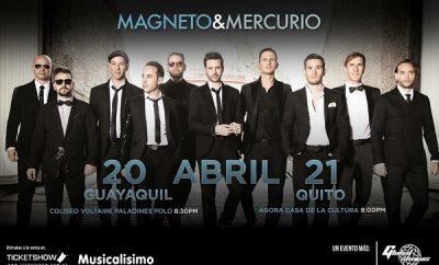 Concierto de Magneto y Mercurio Ecuador 2017
