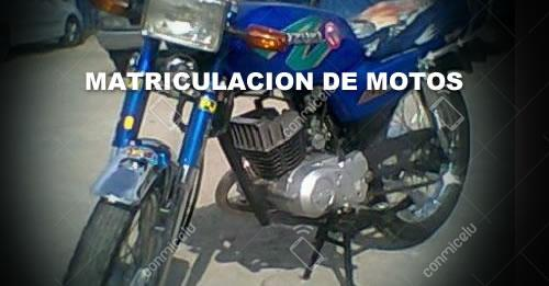 Requisitos para Matriculación de Motos 2017