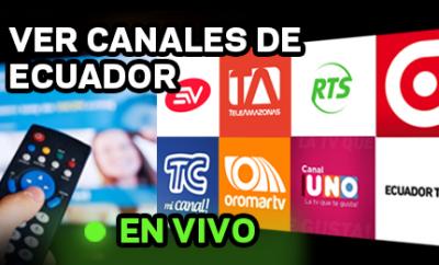 Canales de Tv de Ecuador en vivo Online